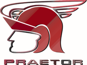 red corporate logo