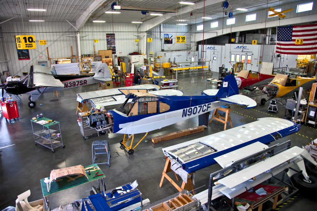 Building the Cub in sections